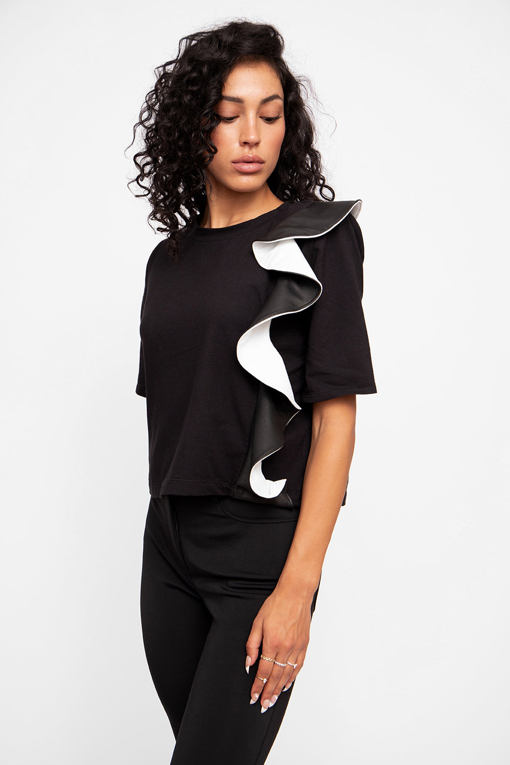 JUST IN: Ruffle Tee