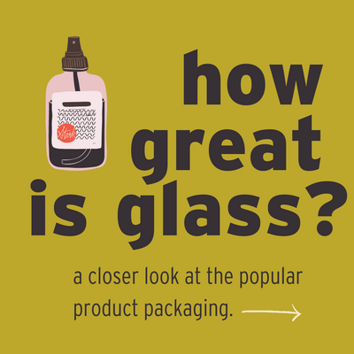 Is glass packaging sustainable?