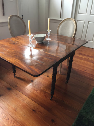 Antique Federal Period Drop Leaf Table