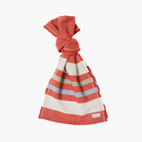 Faribault Kenwood Stripe Wool Scarf