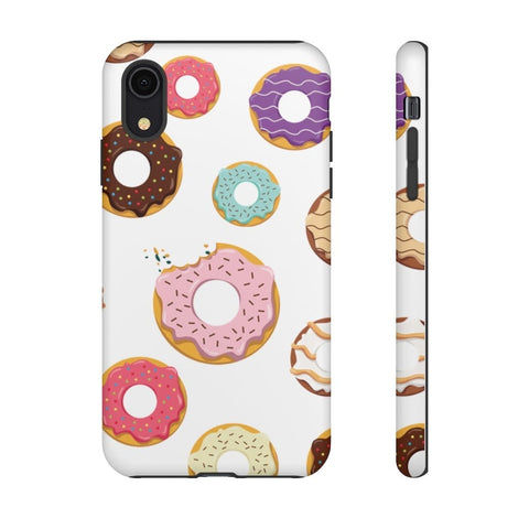 Donut Pattern Tough Case for iPhone and Galaxy