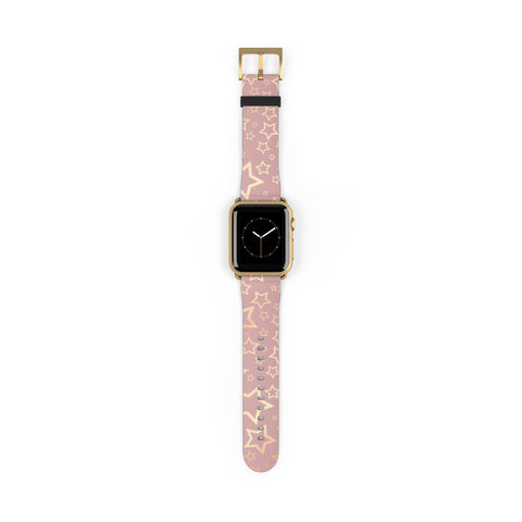 Starry Pattern on Rose Gold - Watch Band