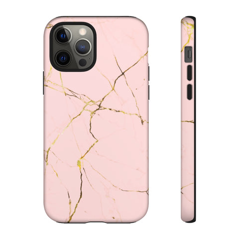 Tough Phone Cases - Pink Marble