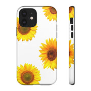 Tough Phone Case - Bright Yellow Sunflowers