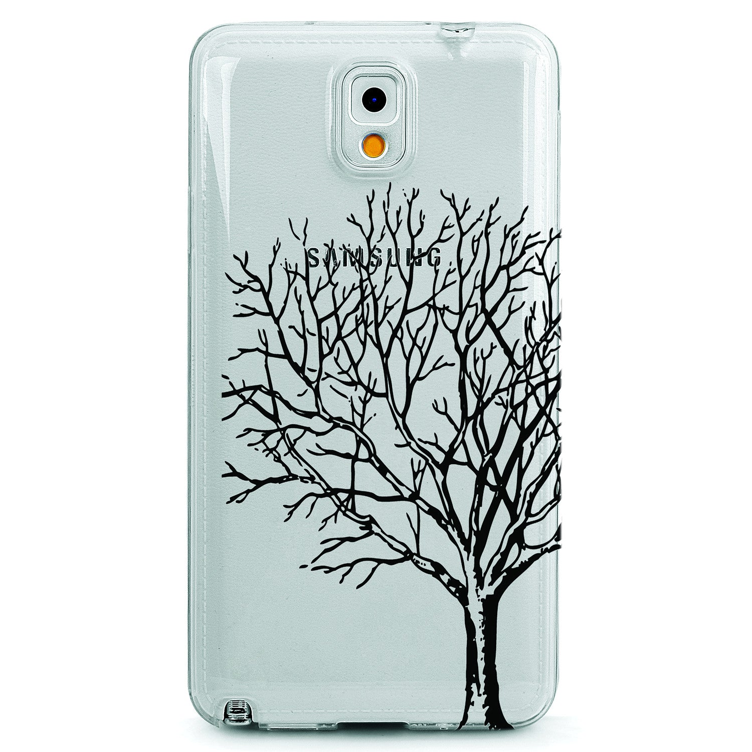 Cherry blossom tree branches clear tpu case cover for for Case design