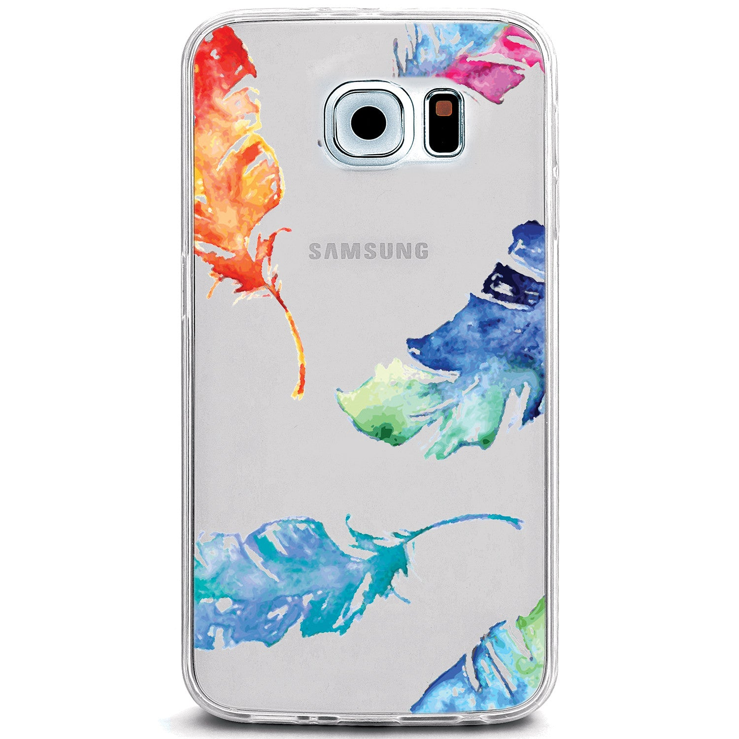 how to clear an iphone watercolor falling feathers clear tpu cover for 4083
