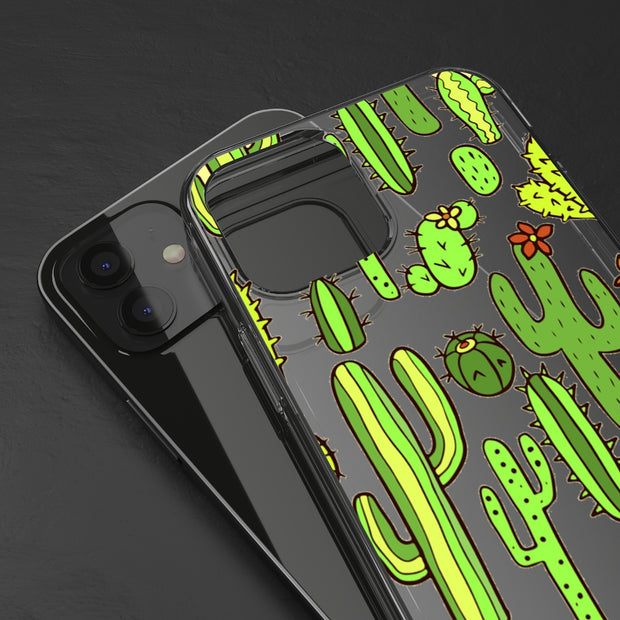 Clear Phone Case - Cactus