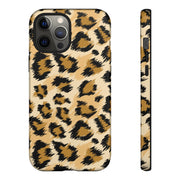 Tough Phone Case - Spotted Leopard Skin