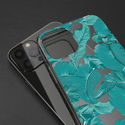 Clear Phone Case - Palm Leaves