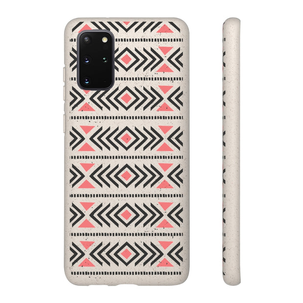 Biodegradable Phone Case - Tribal Arrow Pattern