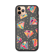 Colorful Diamonds Biodegradable iPhone Case