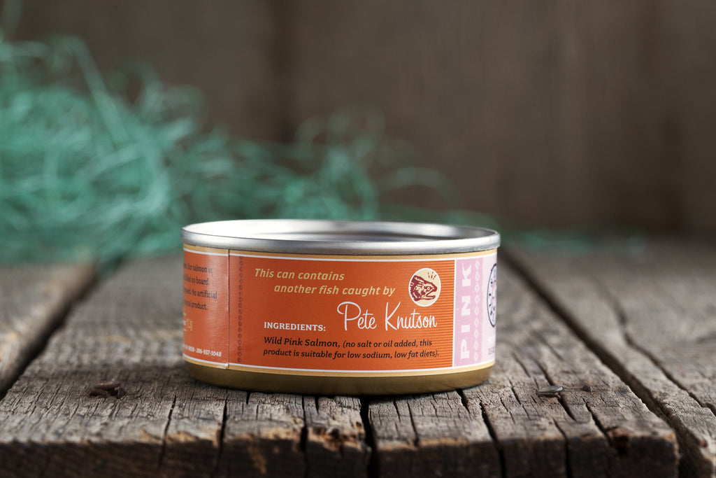 Gourmet Canned Wild Pink Salmon - 3.5 Ounce Natural Pack - Loki Fish Company