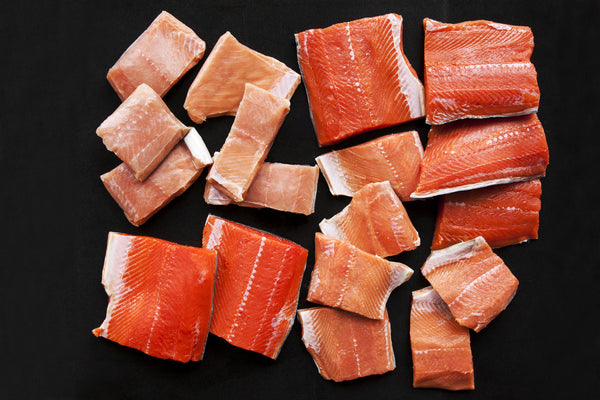 Wild Salmon Fillet Sampler - 10 Pounds - Loki Fish Company