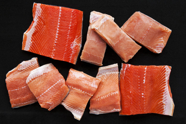 Wild Salmon Fillet Sampler - 5 Pounds - Loki Fish Company