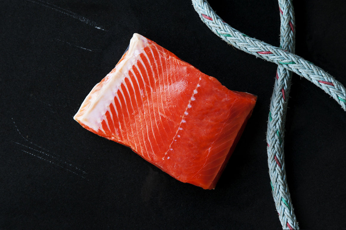 Wild Sockeye Salmon Portions - Loki Fish Company