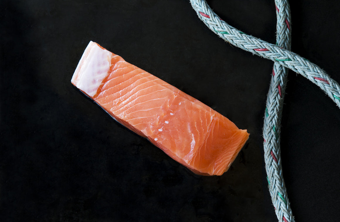 Wild King Salmon Portions - Loki Fish Company