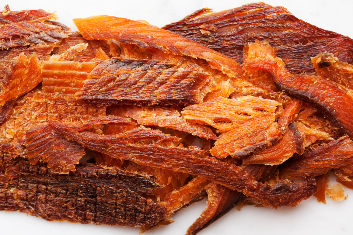 Dried Wild Keta Salmon (2oz pack)