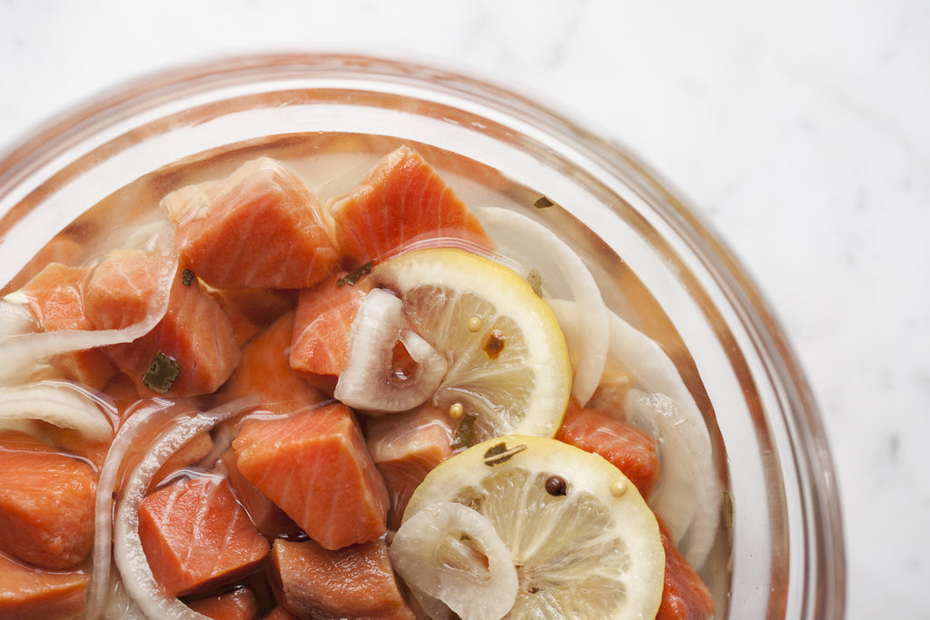 Pickled Wild Sockeye Salmon - Loki Fish Company