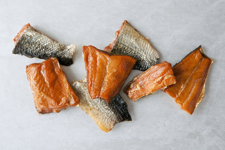 Bulk Packed Smoked Wild Salmon, Varying Species & Flavors - Loki Fish Company