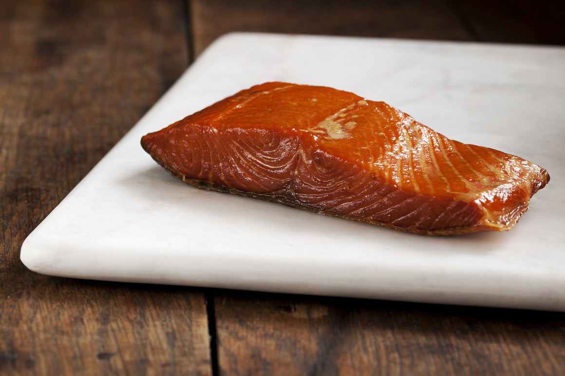 Smoked Wild Coho Salmon Portions - Loki Fish Company