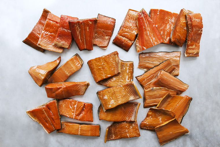 Smoked Wild Salmon Sampler - 10 Pounds - Loki Fish Company
