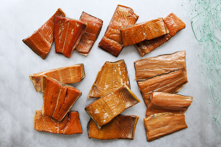 Smoked Wild Salmon Sampler - 5 Pounds - Loki Fish Company