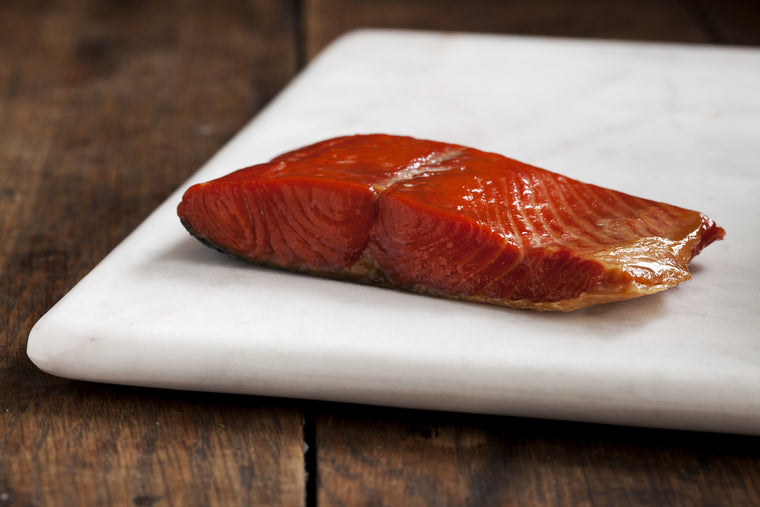 Smoked Wild Sockeye Salmon Portions - Loki Fish Company