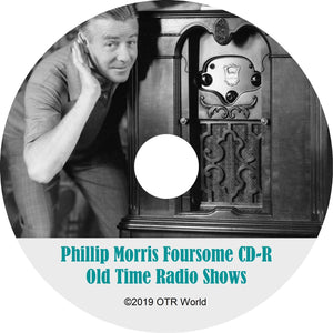 Philip Morris Foursome OTR Old Time Radio Shows MP3 On CD 2 Episodes
