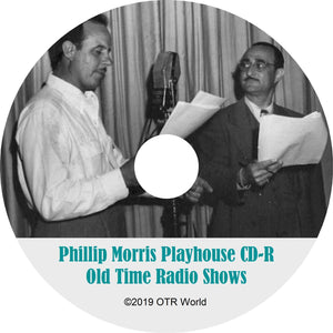 Philip Morris Playhouse OTR Old Time Radio Shows MP3 On CD 10 Episodes