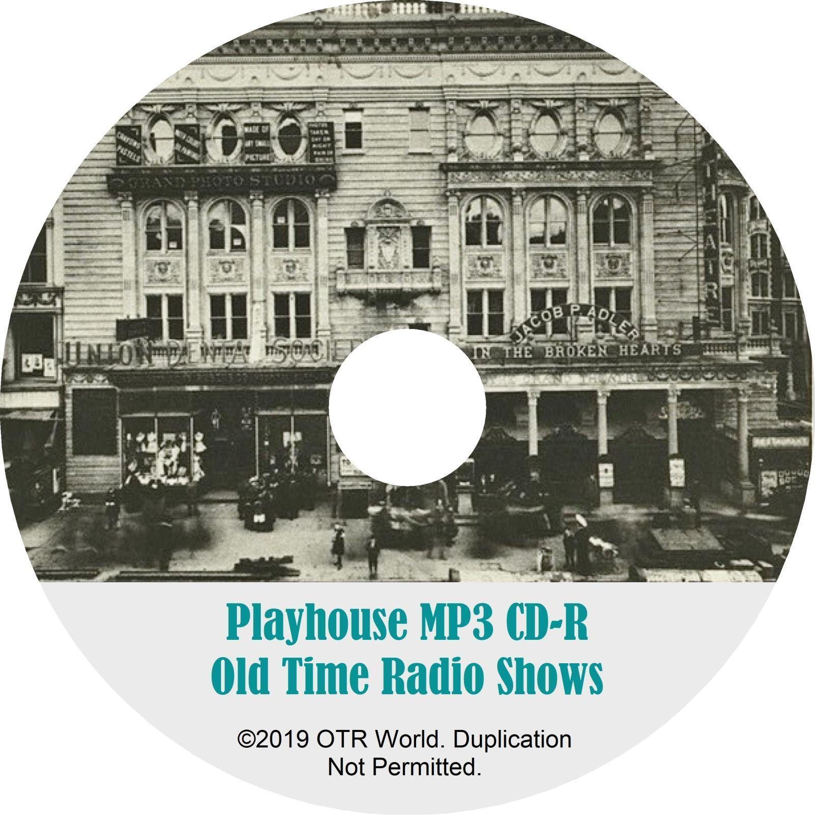 Playhouse OTR Old Time Radio Shows MP3 On CD 13 Episodes - OTR World