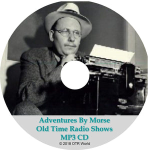 Adventures By Morse Old Time Radio Shows 55 Episodes On MP3 CD