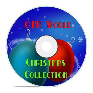 Christmas Collection OTR Old Time Radio Show MP3 On DVD-R Over 500 Episodes