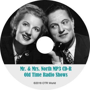 Mr. And Mrs. North Old Time Radio OTR Shows MP3 On CD Alice Frost 80 Episodes