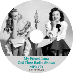 My Friend Irma OTR Old Time Radio Show MP3 On CD 83 Episodes