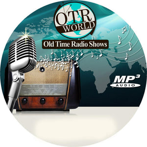 Man Behind The Gun Old Time Radio Shows OTR MP3 On CD-R 9 Episodes