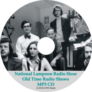 National Lampoon Radio Hour Old Time Radio Shows 27 Episodes On MP3 CD OTR OTRS