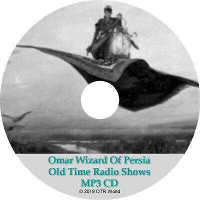 Omar The Wizard Of Persia OTR Old Time Radio Show MP3 On CD 13 Episodes - OTR World