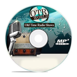 Carter Brown Mystery Hour OTR Old Time Radio Shows OTRS MP3 CD-R 34 Episodes