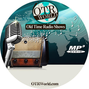Charlie Chan OTR Old Time Radio Show MP3 On CD 24 Episodes