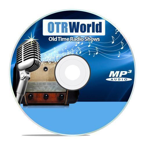 You Are There Old Time Radio Shows OTR MP3 On DVD DVD-R 84 Episodes - OTR World