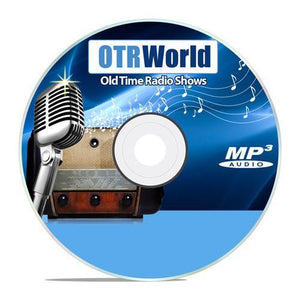 Wayside Theater Old Time Radio Shows OTR MP3 On CD 9 Episodes