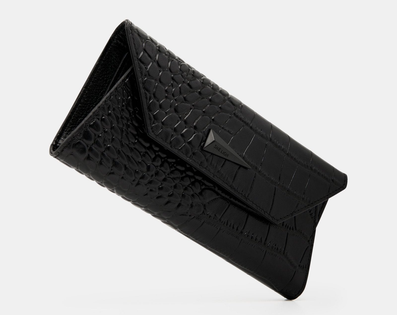 Ladies leather wallet with lots of card slots