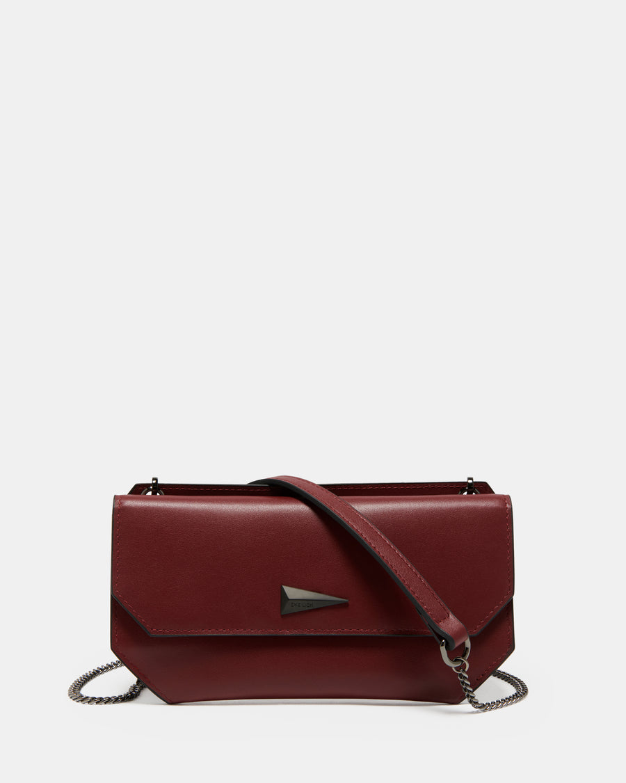 The Fixer Cross-Body Bag - Burgundy