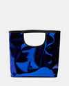 The Risk Taker - Large Electric Blue Tote Bag - Front View - She Lion