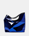 The Risk Taker - Large Electric Blue Tote Bag - Stylised View - She Lion