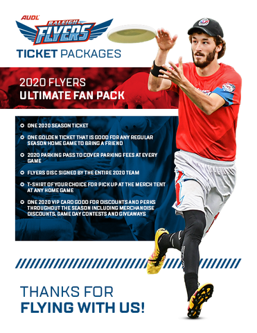 2020 Flyers Ultimate Fan Pack