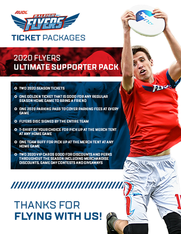 2020 Flyers Ultimate Supporter Pack