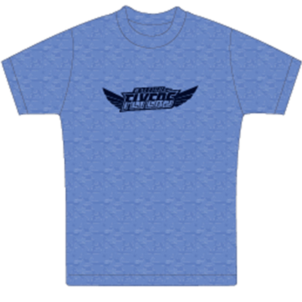NEW Heather Blue Classic Flyers T-Shirt