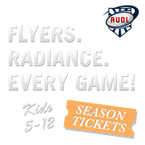 NEW! 2019 Raleigh Flyers Youth Season Ticket