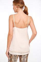Layered Stitch Edge Cami Top